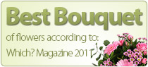 Best online flower bouquet 2011 according to which?