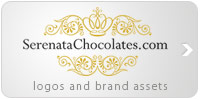 Serenata Chocolates brand assets