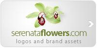 Serenata Flowers brand assets