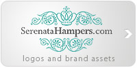 Serenata Hampers brand assets