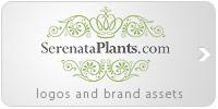 Serenata Plants brand assets