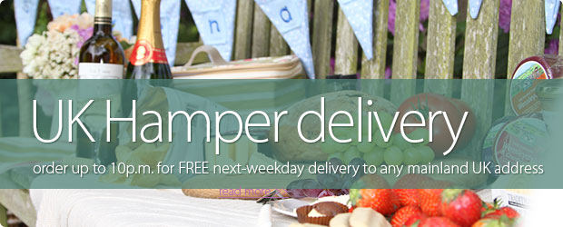 UK Hamper Delivery - Order up to 8pm for next-weekday delivery to any mainland UK address.